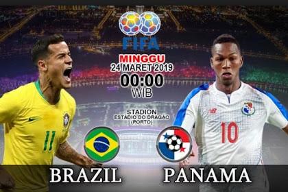 Skor Akhir Brazil Vs Panama 1-1 - 24 Maret 2019
