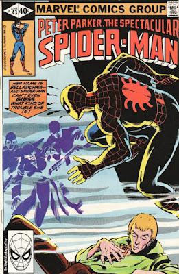 Spectacular Spider-Man #43, Belladonna