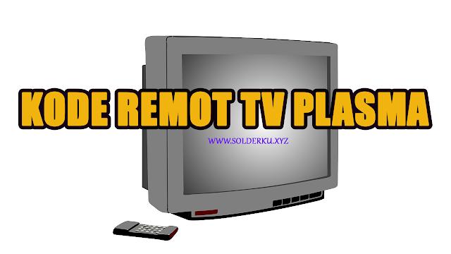 Kode Remot tv plasma