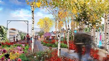 Camden Highline, el nuevo parque elevado de Londres, tendrá jardines diseñados por Piet Oudolf