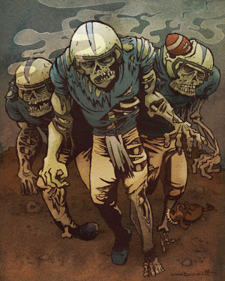 American Football Zombie