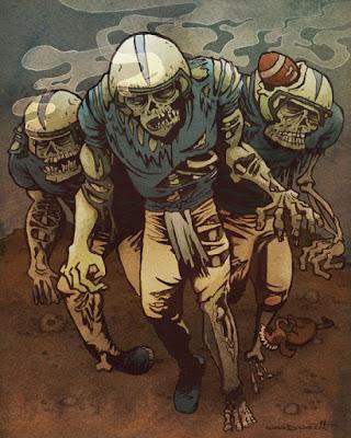 American Football Zombie