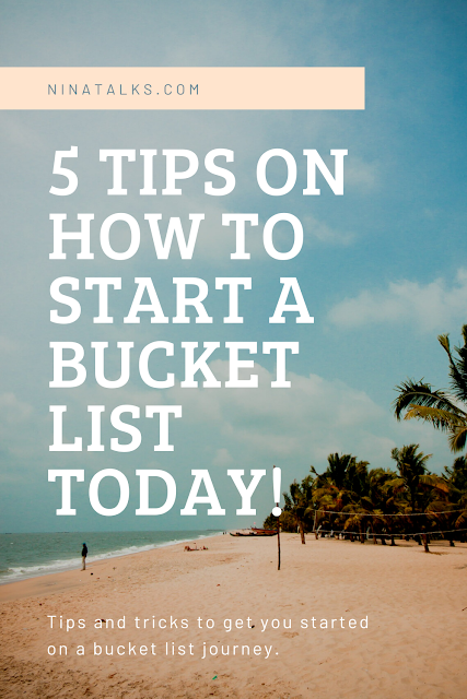 How to start a bucket list, no money but want to travel, how to complete a bucket list