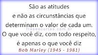 Frases de Bob Marley sobre a Vida