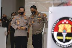 Idham Azis Minta Polri Dukung Putusan Jokowi Pilih Listyo Sigit Prabowo Sebagai Kapolri
