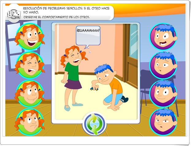 """""""Observar el comportamiento de los otros"""" (Resolución de conflictos en Educación Infantil y Primaria)"""