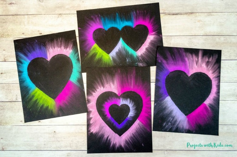 heart preschool valentine craft