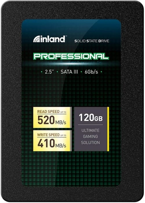 Review Inland Professional 120GB SSD 3D NAND Internal SSD