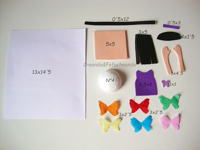 piezas-y-medidas-de-mariposas-y-fofuchas-como-decorar-una-tarjeta-creandoyfofucheando