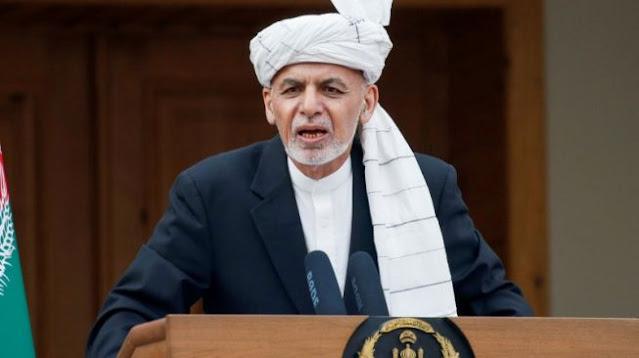 Presiden Afghanistan Ashraf Ghani Kabur saat Ibukota Kabul Dikuasai Taliban