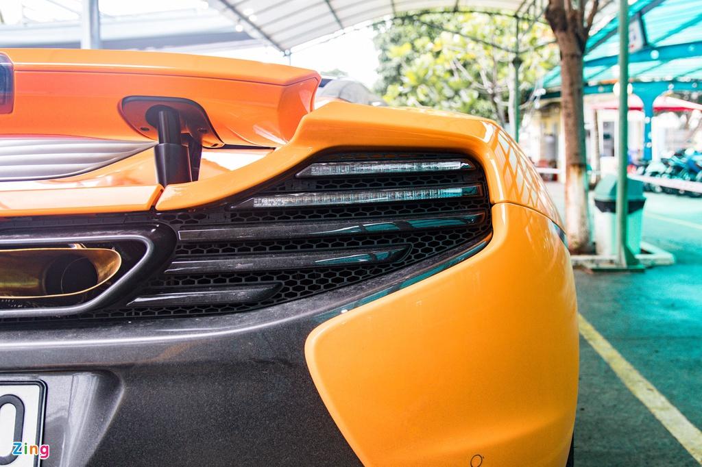 Chi tiết McLaren 650S Spider đầu tiên tại Cần Thơ