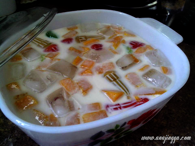 koktail sumi jelly mangga