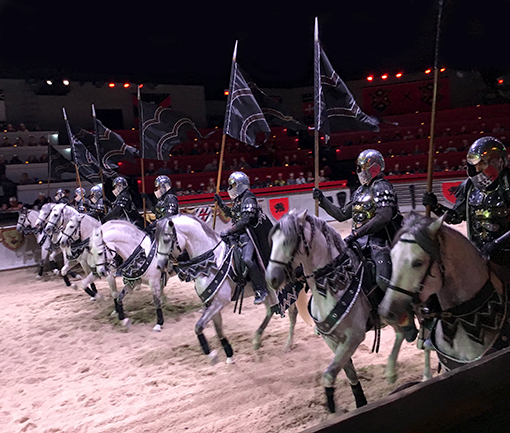 Medieval Times Atlanta Castle | Photo: wanderlust ATLANTA