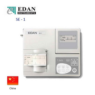 Ekg Ecg 1 Channel Edan Instrument Se 1 Alat Kesehatan