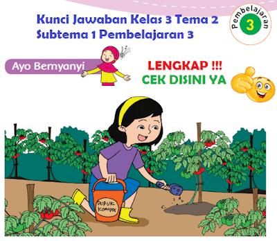 Kunci Jawaban Kelas 3 Tema 2 Subtema 1 Pembelajaran 3 www.simplenews.me