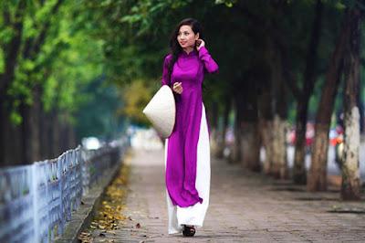 Hình ảnh: Phụ nữ Việt Nam thướt tha với áo dài
