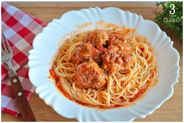 receita almondega italiana