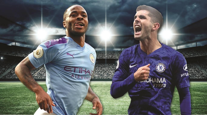 ผลการค้นหารูปภาพสำหรับ Man City vs Chelsea graphic