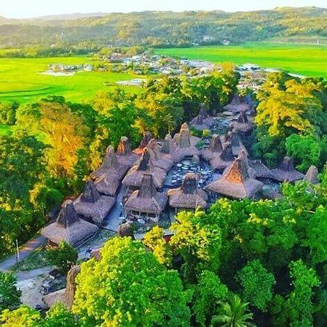 Kampung Adat Tarung Sumba Barat Nusa Tenggara Timur - foto instagram melky999_trg