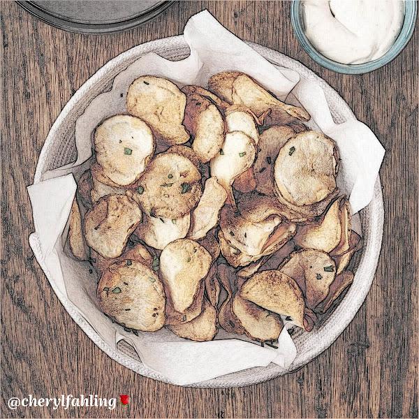 Air Fryer Potato 🥔 Chips