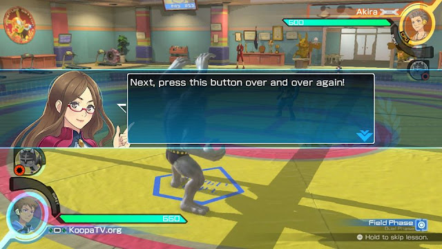 Pokkén Tournament DX Tutorial press this button over and over again