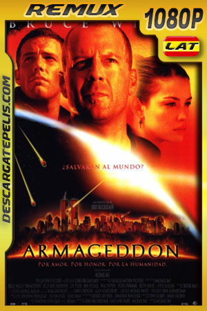 Armageddon (1998) 1080p BDRemux Latino – Ingles