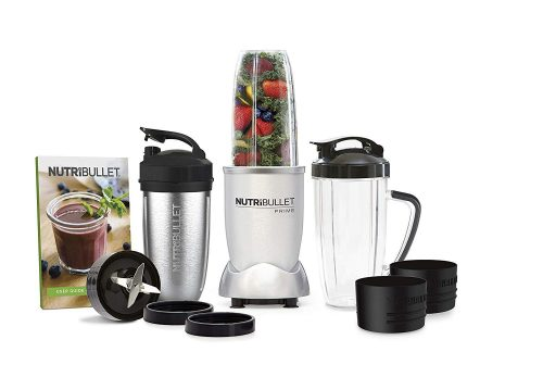 Steamy Kitchen is giving away a 12 piece NutriBullet PRIME Edition High Speed Blender Mixer System including a stainless steel cup to one lucky winner!