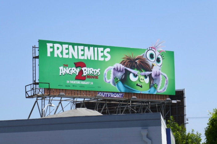 Angry Birds Movie 2 cut-out billboard