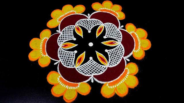 Diwali Rangoli Latest Design