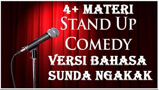 4+ Materi stand up comedy versi bahasa sunda bikin ngakak