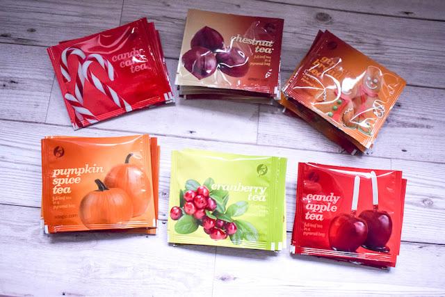 Adagio Teas Christmas gourmet tea collection giveaway