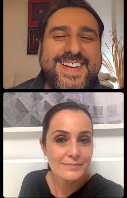 Roberta Capua diretta Instagram con Davide Maggio