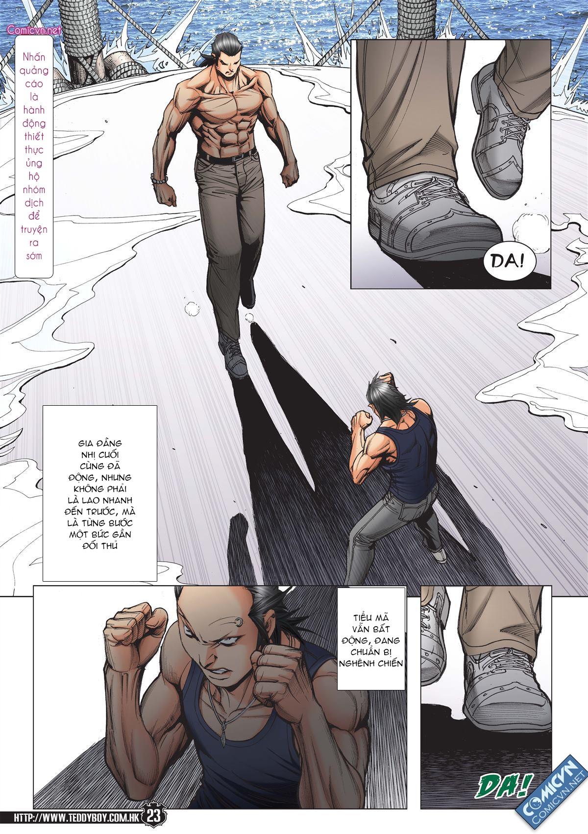 Người Trong Giang Hồ chapter 2148: tiểu mã vs gia đằng nhị trang 19