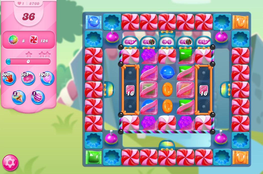 Candy Crush Saga level 8760