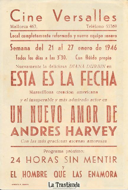 Un Nuevo Amor de Andrés Harvey - Programa de Cine - Mickey Rooney - Cecilia Parker