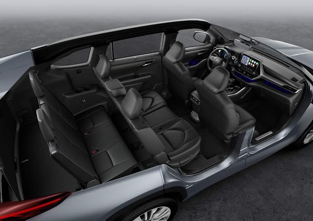 Toyota Highlander Híbrido: SUV de 7 lugares chega à Europa