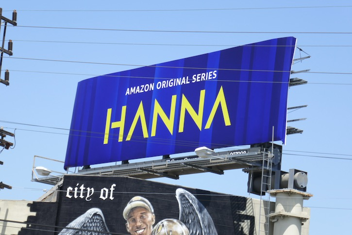 Hanna season 2 logo billboard