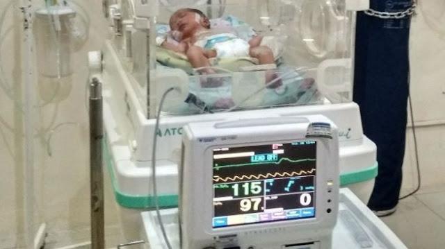 Bayi Ini Lahir di Angkasa, Ibunya Beri Nama Sky