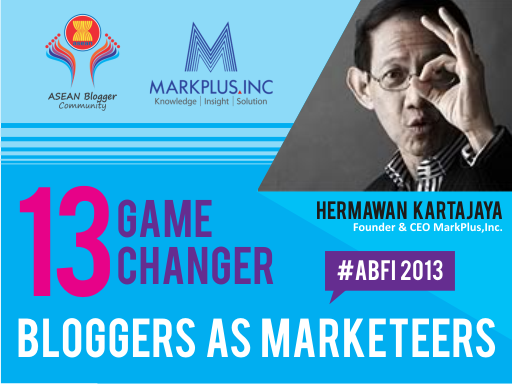 Bloggers as Marketeers, blogger, marketer, ASEAN Blogger, Hermawan Kertajaya
