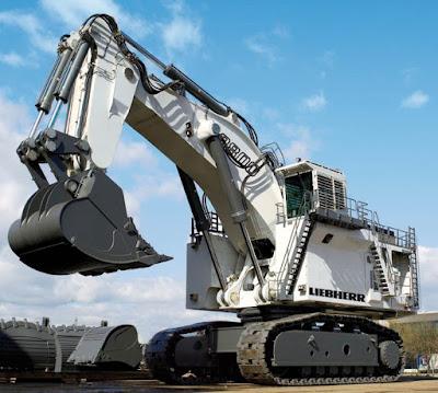 Alat Berat Liebherr R8900, Excavator Terbesar di Dunia