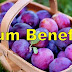 What are the health benefits of Plums