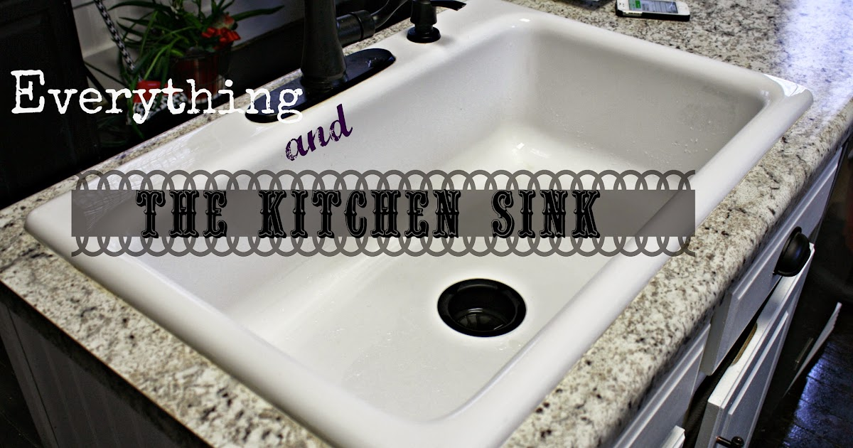 everything and the kitchen sink i a big story to tell everything and the kitchen sink 8884