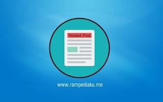 Memasang Related Post Di Blogger