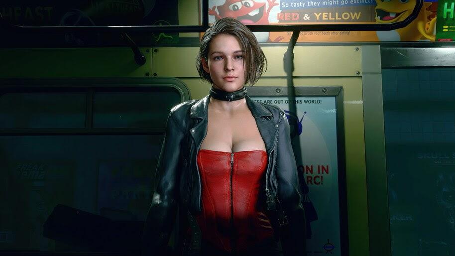 Jill Valentine, Resident Evil 3, Remake, 4K, #3.2031