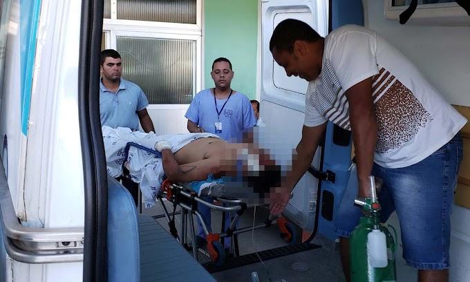Vítima de acidente em Umburanas, homem corre risco de ficar paraplégico