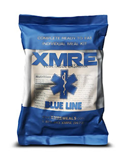 XMRE Blue Line and its bag