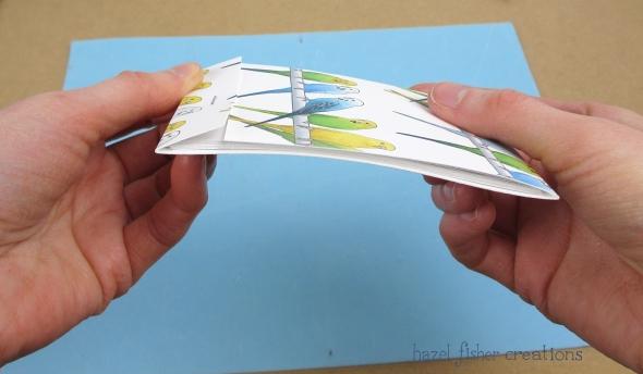 DIY Matchbook Notebooks tutorial by hazelfishercreations