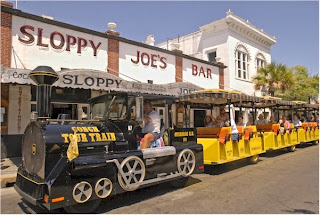 Ride the key west conch train