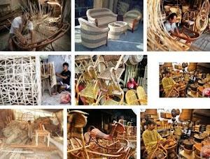 Daftar Produsen Barang Kerajinan Rotan di Jatim