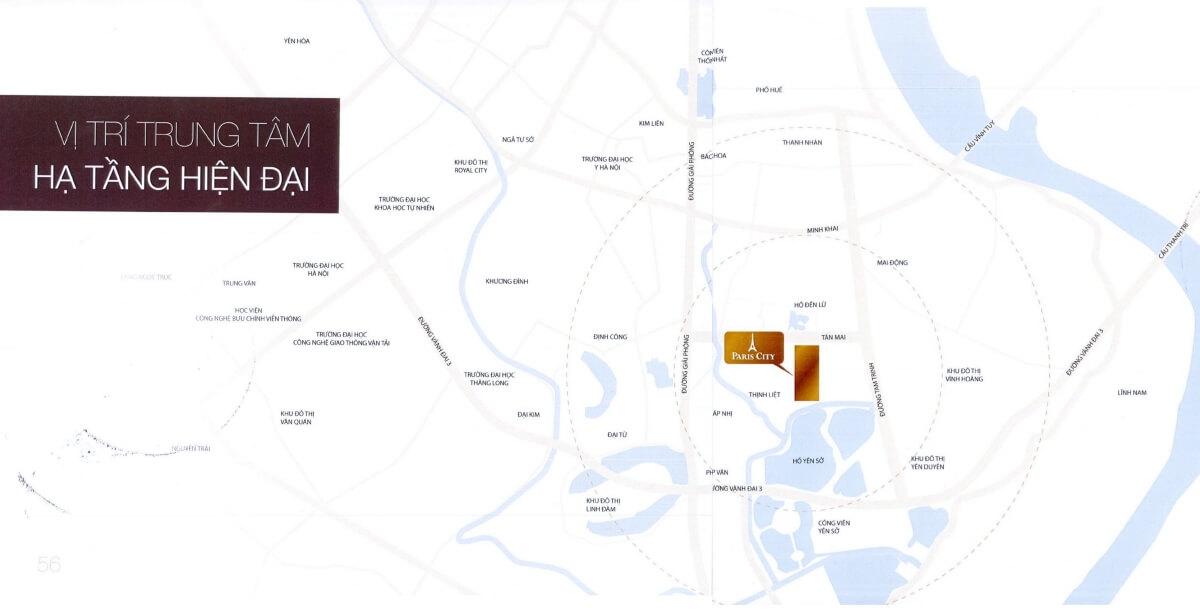 Maps khu đô thị Louis City